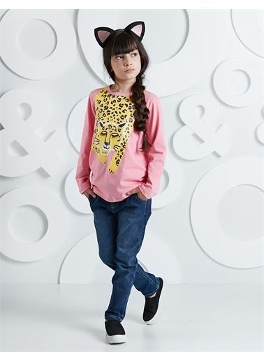 Ollie & olla Çita Kız Kot Pantolon Takım Renkli